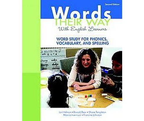 Words Their Way With English Learners : Word Study for Phonics, Vocabulary, and Spelling (Paperback) - image 1 of 1