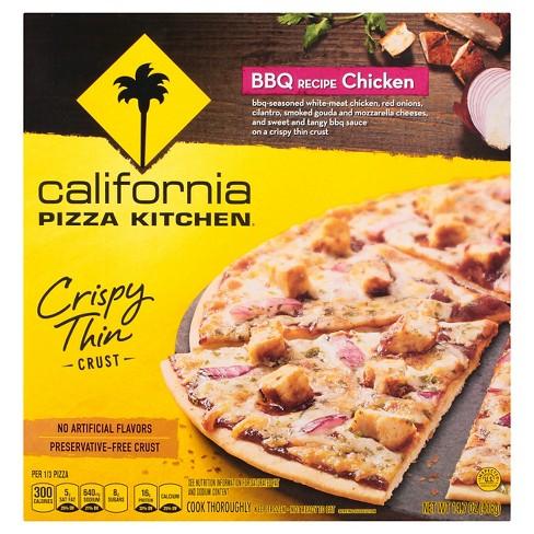 california pizza kitchen crispy thin crust bbq recipe chicken frozen pizza 12 target - Kitchen Chicken