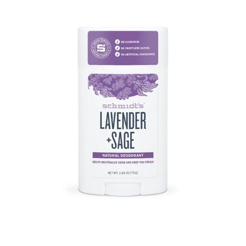 Schmidt's Lavender + Sage Natural Deodorant - 2 65oz