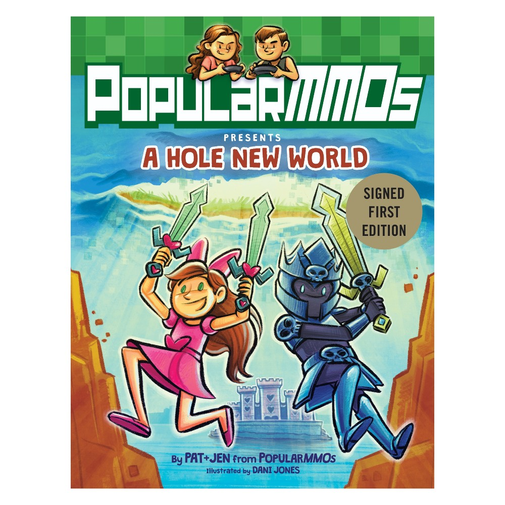A Hole New World Target Exclusive Signed Edition by Polular MMOs