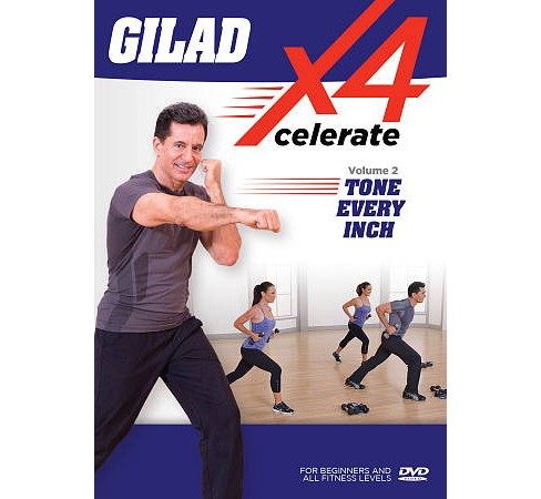 Gilad:Xcelerate 4 No 2 Tone Every Inc (DVD) - image 1 of 1