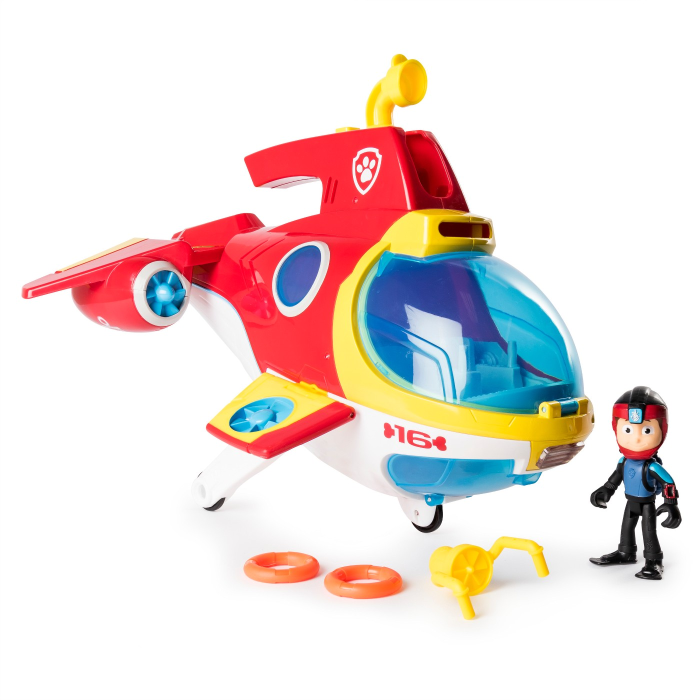 PAW Patrol Sub Patroller Transforming Vehicle with Lights, Sounds and Launcher - image 1 of 10
