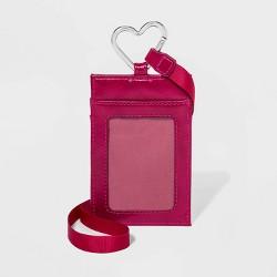 Women's Heart Carabiner Lanyard - Wild Fable™ Pink