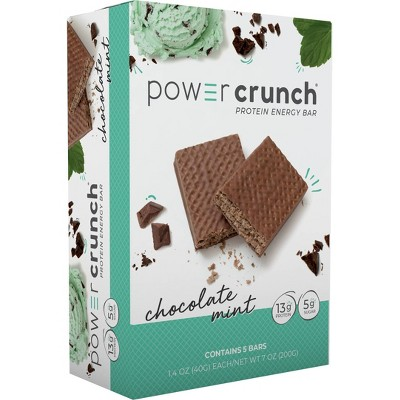 Power Crunch Protein Energy Bar Chocolate Mint - 5ct