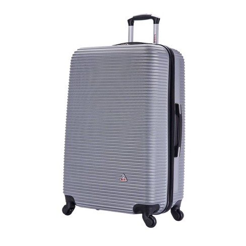 "InUSA Royal 28"" Hardside Spinner Suitcase - Silver - image 1 of 4"