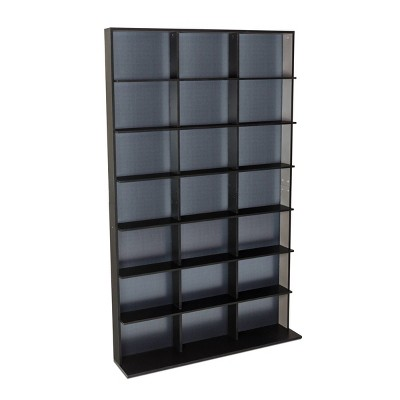 Multimedia Elite Storage Cabinet Medium Black - Atlantic