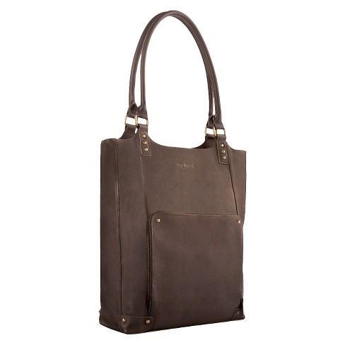 "SOLO 16"" Bucket Tote - Colombian Leather - image 1 of 4"