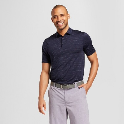 Men's Multi Striped Golf Polo Shirt - C9 Champion® Navy L