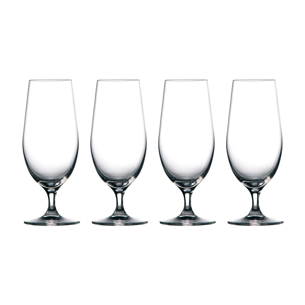 Image of Marquis by Waterford 15.5oz 4pk Moments Beer Mugs, Clear