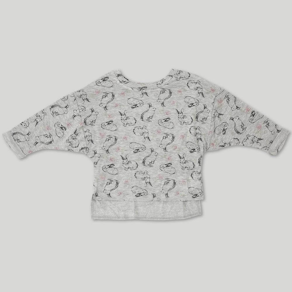 Toddler Girls' Afton Street Sweatshirt Heather Gray 4T