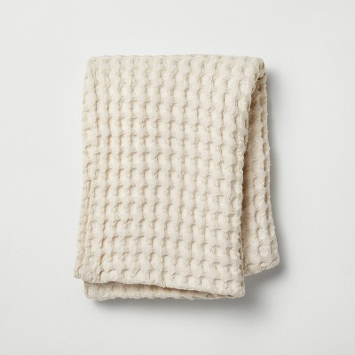 Waffle Body Pillow Cover Natural - Casaluna™