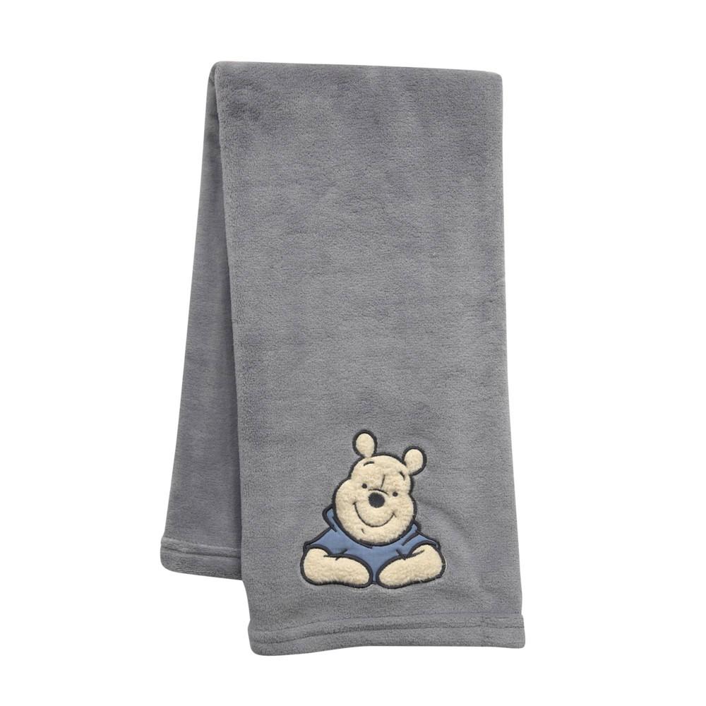 Image of Lambs & Ivy Disney Baby Nursery Baby Blanket - Forever Pooh