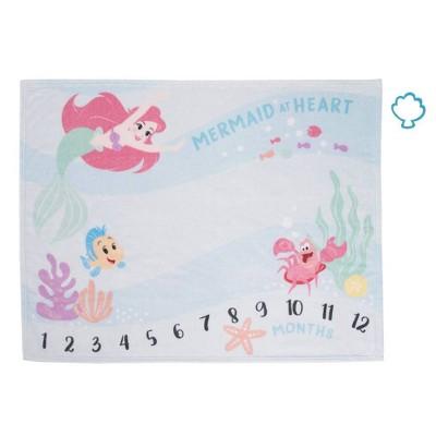 Disney Ariel Milestone Blanket