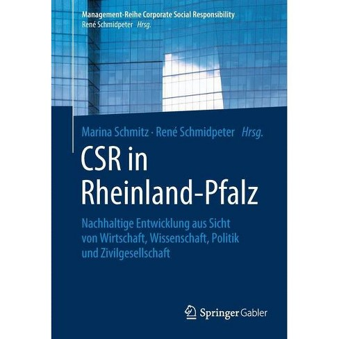 Csr in Rheinland-Pfalz - (Management-Reihe Corporate Social Responsibility) (Paperback) - image 1 of 1
