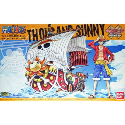 Bandai Hobby One Piece Thousand Sunny Ship Grand Ship Collection Model Kit