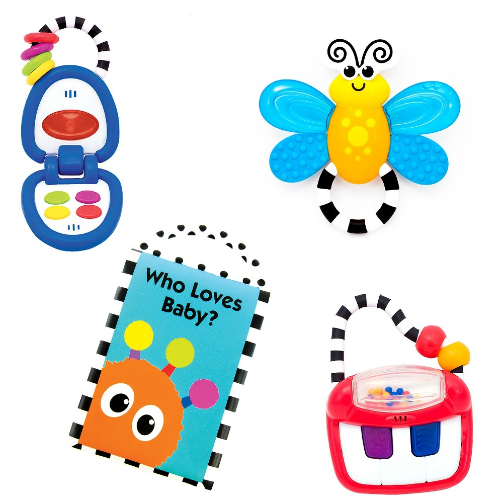 Image of Sassy Baby Gift Set - Toys for 3+ Months