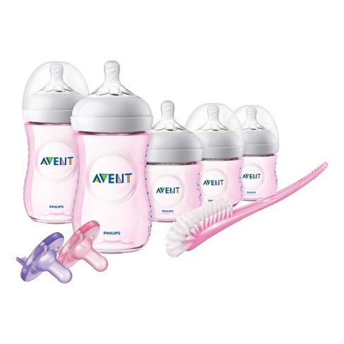 Philips Avent Baby Bottle Gift Set - Pink - image 1 of 15