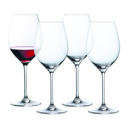 8dd491640e Marquis By Waterford 19.6oz 4pk Moments Red Wine Glasses : Target
