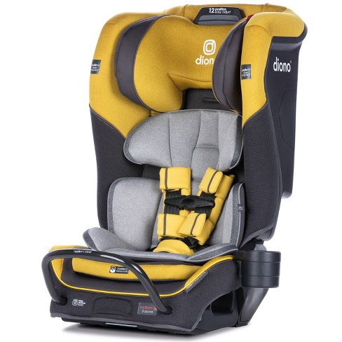 Diono Radian 3qx All In One Convertible, Yellow Car Seat And Stroller