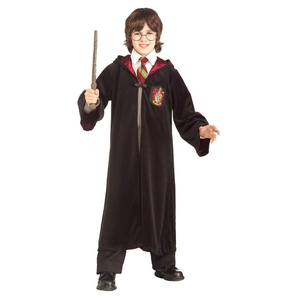 Harry Potter Premium Gryffindor Robe Kids' Costume - Small, Kids Unisex