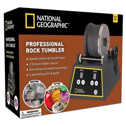 National Geographic™ Professional Rock Tumbler - image 1 of 1
