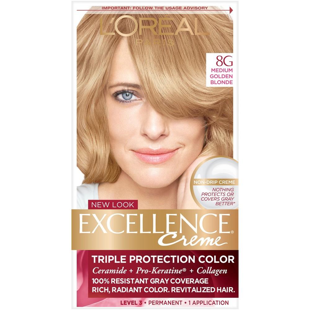 Loreal Paris Excellence Triple Protection Permanent Hair Color 8g