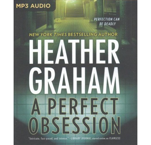 Perfect Obsession -  (New York Confidential) by Heather Graham (MP3-CD) - image 1 of 1