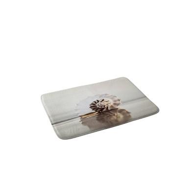 Bree Madden Seashell Memory Foam Bath Mat Beige - Deny Designs