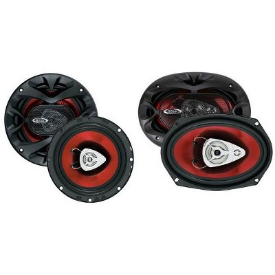 """2 BOSS CH6520 6.5"""" 250W Car Speakers and 2 BOSS CH6930 6x9"""" 400W Car Speakers"""