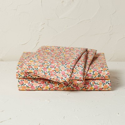 Printed Cotton Percale Sheet Set - Opalhouse™ designed with Jungalow™