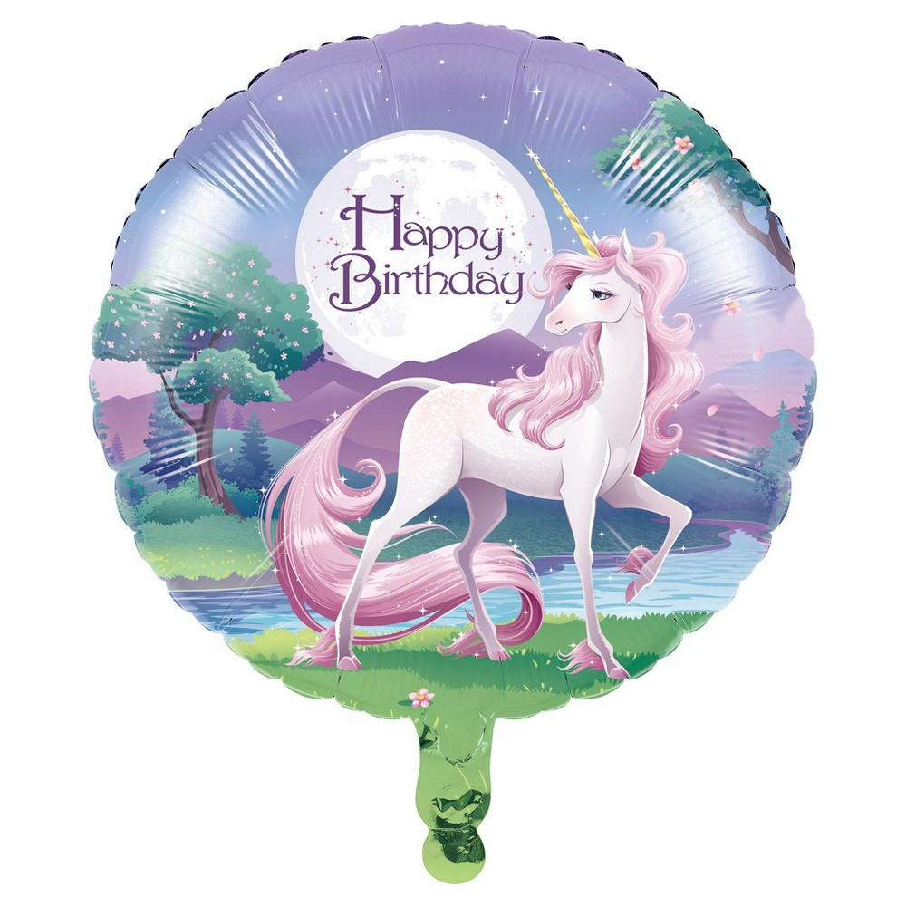 Unicorn Fantasy Mylar Balloon