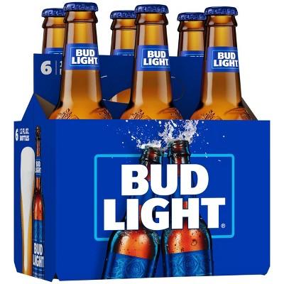 Bud Light Beer - 6pk/12 fl oz Bottles