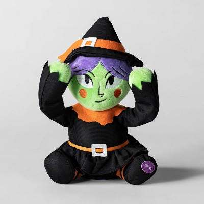 Animated Plush Witch Halloween Decorative Prop - Hyde & EEK! Boutique™
