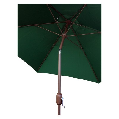 9' Round Crank Patio Umbrella - Green