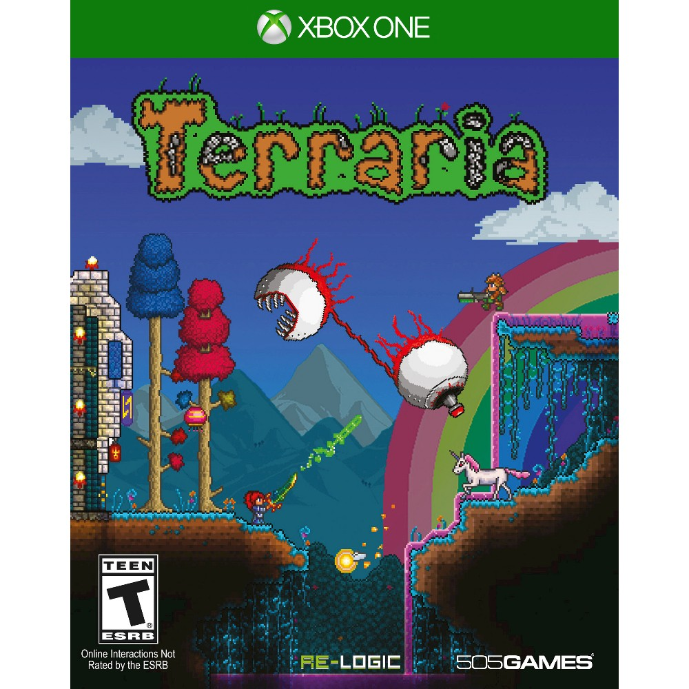 Terraria for Xbox One, video games