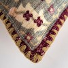 """14""""x26"""" Antique Rug Patterened Throw Pillow Cover Red - Rizzy Home - image 3 of 4"""