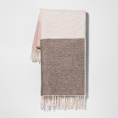 Pink Color Block Throw Blankets 50 X60  - Project 62™