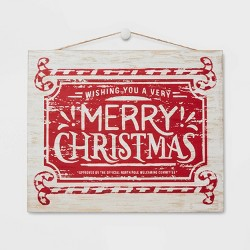 Wishing You A Merry Christmas Sign - Wondershop™