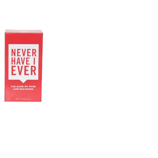 Never Have I Ever Card Game, Adult Unisex image number null