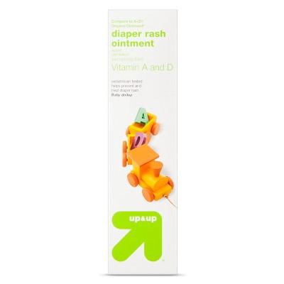 Diaper Rash Ointment, Vitamin A & D - 4oz - Up&Up™