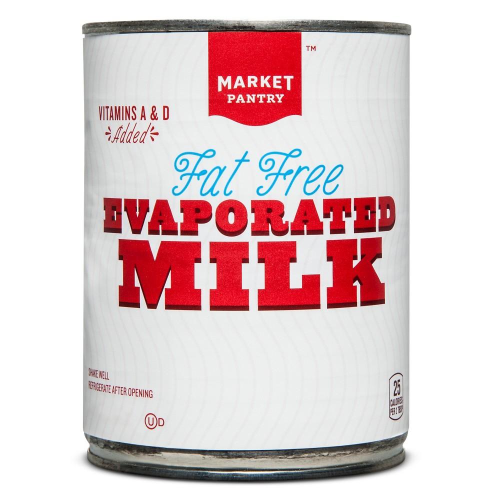 Fat Free Evaporated Milk - 12oz - Market Pantry