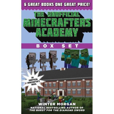 The Unofficial Minecrafters Academy Series Box Set - by  Winter Morgan (Mixed media product) - image 1 of 1