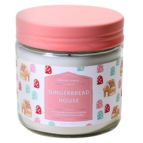 Jar Candle Gingerbread House 12.3oz - image 1 of 1