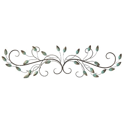 Patina Scroll Leaf - Stratton Home Decor