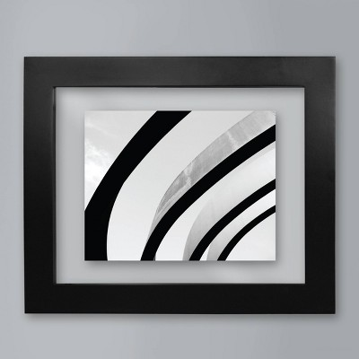 8  x 10  Wide Gallery Float Frame Black - Made By Design™