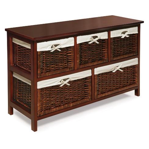 Badger Basket Five Basket Storage Unit with Baskets - image 1 of 4