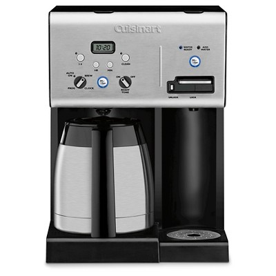 Cuisinart® 10 Cup Programmable Coffee Maker & Hot Water System - Stainless Steel CHW-14