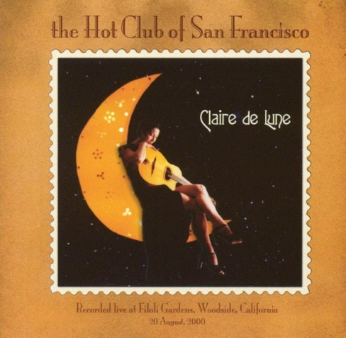 Hot club of san fran - Claire de lune (CD) - image 1 of 1