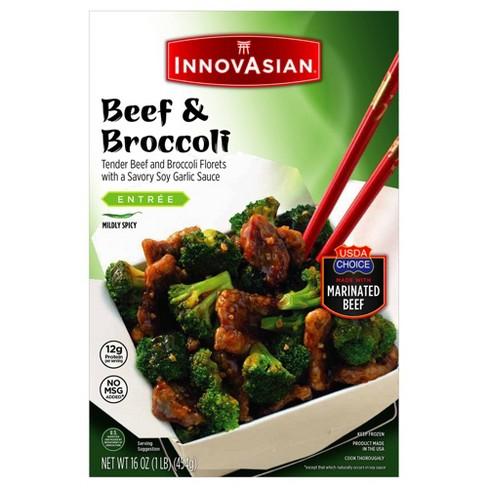 InnovAsian Cuisine Frozen Beef & Broccoli - 16oz - image 1 of 4