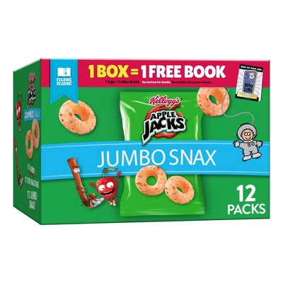 Kellogg's Snax Apple Jacks Jumbo Caddy Cereal - 5.4oz